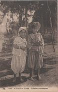 AK Scènes Types Jeune Fillettes Mauresques Femme Fille Fillette Arabe Girl Woman Afrique Vintage Lehnert Landrock Levy - Mauritania
