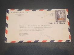 NICARAGUA - Enveloppe Commerciale Pour Le Havre En 1936 , Affranchissement Recto Et Verso - L 11708 - Nicaragua