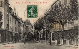01 BELLEY  Rue Saint-Martin (ancienne Rue Royale) - Belley