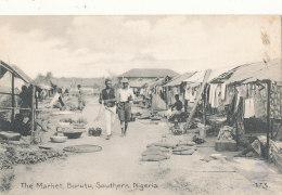 NIGERIA )) The Market, BURUTU,  SOUTHERN NIGERIA - Nigeria