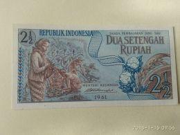 2 1/2 Rupiah 1961 - Indonésie