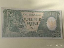 25 Rupiah 1964 - Indonesia