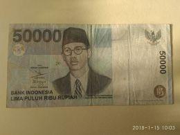 50000 Rupiah 1999 - Indonesia