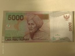 5000 Rupiah 2001 - Indonesia