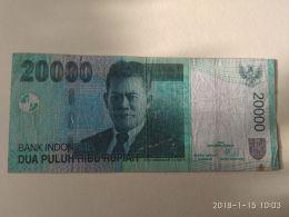 20000 Rupiah 2004 - Indonesia
