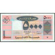 TWN - LEBANON 85b - 5000 5.000 Livres 2008 Prefix A1/0 UNC - Libano