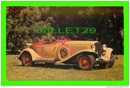 PASSENGERS CARS - 1933 AUBURN V-12 BOATTAIL SPEEDSTER - CHARLES KNIPE - - Voitures De Tourisme