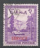 Pakistan 1957. Scott #O53 (U) Kaghan Valley - Pakistan