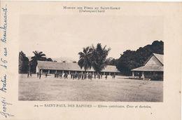 SAINT PAUL DES RAPIDES - N° 24 - ELEVES CATECHISTES - COUR ET DORTOIRS - Central African Republic