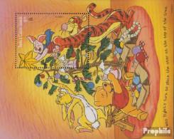 Turks- Und Caicos-Inseln Block166 (kompl.Ausg.) Postfrisch 1996 Walt Disneys Winnie The Pooh - Turks And Caicos