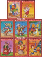 Turks- Und Caicos-Inseln 1346-1353 (kompl.Ausg.) Postfrisch 1996 Walt Disneys Winnie The Pooh - Turks And Caicos