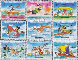 Turks- Und Caicos-Inseln 675I A-683I A (kompl.Ausg.) Postfrisch 1984 Walt-Disney-Figuren - Turks And Caicos