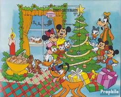 Turks- Und Caicos-Inseln Block46 (kompl.Ausg.) Postfrisch 1983 Weihnachten: Walt-Disney-Figuren - Turks And Caicos