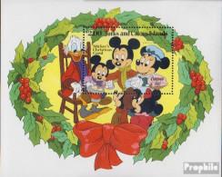 Turks- Und Caicos-Inseln Block41 (kompl.Ausg.) Postfrisch 1982 Walt-Disney-Figuren - Turks And Caicos