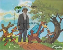 Turks- Und Caicos-Inseln Block34 (kompl.Ausg.) Postfrisch 1981 Weihnachten: Walt-Disney-Figuren - Turks And Caicos