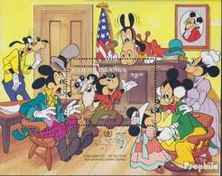 Caicos-Inseln Block12 (kompl.Ausg.) Postfrisch 1985 Walt-Disney-Figuren - Turks And Caicos