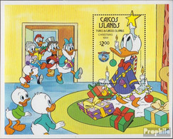 Caicos-Inseln Block7 (kompl.Ausg.) Postfrisch 1984 Walt-Disney-Figuren - Turks And Caicos
