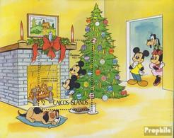 Caicos-Inseln Block2 (kompl.Ausg.) Postfrisch 1983 Walt-Disney-Figuren - Turks And Caicos