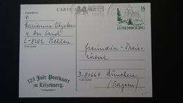 Luxembourg - 1995 - Mi: P 162 O - Postal Stationery - Look Scan - Stamped Stationery
