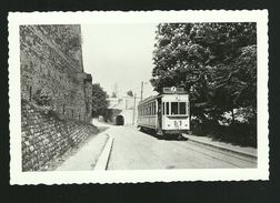 NAMUR  PORTE MERVEILLEUSE PHOTO ORIGINALE DU TRAM TRAMWAY LIGNE 7 NAMUR CITADELLE  DOCUMENT DE LA SNCV - Lieux