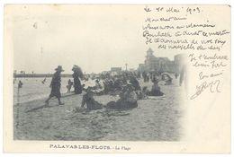 6 Cpa Palavas Les Flots - La Plage, Pêche, Pêcheurs, Casino - Palavas Les Flots