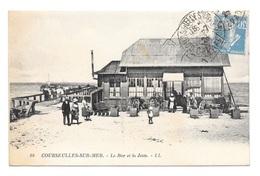 (18484-14) Courseulles Sur Mer - Le Bar Et La Jetée - Courseulles-sur-Mer