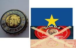 Beer Caps  Unused EXOTIC  ( BELGIAN Congo -ELISABETVILLE 1958-1960) - Beer