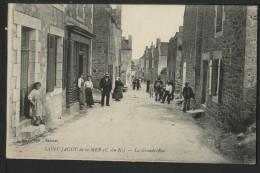 22 SAINT JACUT DE LA MER - La Grande Rue - Saint-Jacut-de-la-Mer