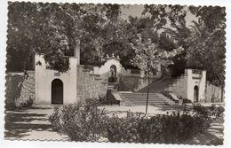 Espagne--FIGUERAS--1955--Parque  Escalinata --- Timbre--cachet - Gerona