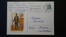 Luxembourg - 1992 - Mi: P 161/01 O - Postal Stationery - Look Scan - Stamped Stationery