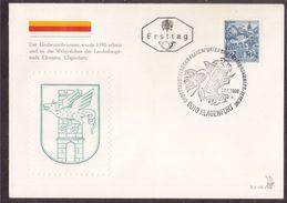 Z52 Austria, Österreich 1968 Dragon, Mythologie, Mythology, FDC - Mitología