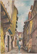 Carte Postale       BARRE  DAYEZ   BEAUVAIS    L'ancienne Impasse Beauregard    2047 F - Beauvais