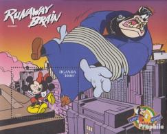 Uganda Block293 (kompl.Ausg.) Postfrisch 1998 Walt-Disney-Figur Micky Maus - Uganda (1962-...)