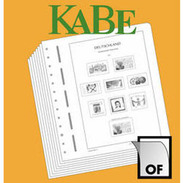 KABE OF Supplement Federal Republic Of Germany Stamp Booklets 2017 - Albums & Binders
