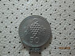 CYPRUS 50 Mils 1974 # 3 - Cyprus