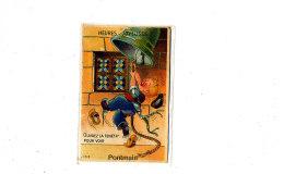 AJ 508 /CPA A SYSTEME - PONTMAIN  (53) OUVREZ LA FENETRE POUR VOIR - Pontmain