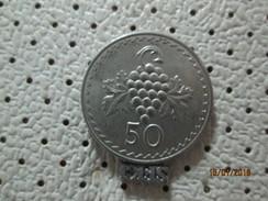CYPRUS 50 Mils 1970 # 3 - Cyprus