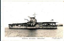 AJ 543 /C P A   PORTE AVIONS BEARN - Warships