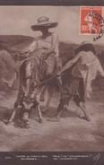 REMAINS. HUE! EH! BORRIQUE!. SALON DE PARIS 1913. SELCOTA-CIRCULEE TO Sta ROSA DE CANELONES-TBE-BLEUP - Peintures & Tableaux