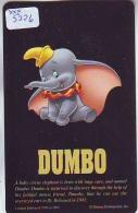 Rare Télécarte Ancienne Japon NEUVE DISNEY * 110-206376 * DUMBO  (5226)  Japan MINT Phonecard * FILM * ELEPHANT - Disney