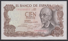 Spain 100 Pesetas 17.11.1970 (1974) UNC - [ 3] 1936-1975 : Regime Di Franco