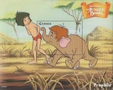Gambia Block411 (complète.Edition.) Neuf Avec Gomme Originale 1999 Walt-disney-Zeichentrickfilm - Gambie (1965-...)
