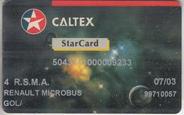 FRANCE - PHONE CARD - MILITAIRE * RARE - RÉUNION   *** CARTE CARBURANT & CALTEX  *** - Militär