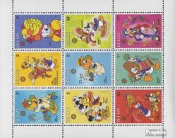 Belize 934-942 Kleinbogen (kompl.Ausg.) Postfrisch 1986 Walt-Disney-Figuren - Belize (1973-...)
