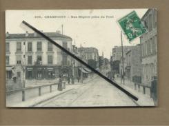 CPA   Rétrécit - Champigny - Rue Mignon Prise Du Pont - Champigny Sur Marne