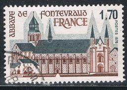 FRANCE : N° 2002 Oblitéré (Abbaye De Fontevraud) - PRIX FIXE - - Francia