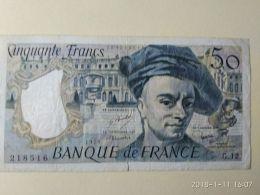 50 Francs 1978 - 50 F 1976-1992 ''Quentin De La Tour''
