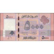 TWN - LEBANON 91a - 5000 5.000 Livres 2012 Prefix A/02 UNC - Libano