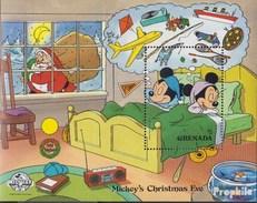 Grenada Block 215 (completa Edizione) MNH 1988 Walt-Disney-Cifre: Micky Maus - Grenada (1974-...)
