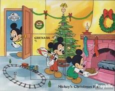 Grenada Block 214 (completa Edizione) MNH 1988 Walt-Disney-Cifre: Micky Maus - Grenada (1974-...)